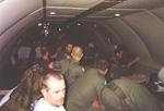 Inside the An-124.