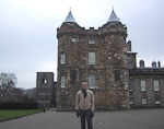 The Palace of Holyroodhouse is one of the official residences of the Queen. This is where the British monarch spends most of the summer.