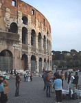 The Colosseum is 188 meters long, 156 meters wide and 50 meters high.