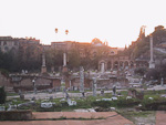 The Roman Forum (Foro Romano) was once the religous, political and commercial center of Rome.