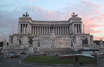 The vast Victor Emmanuel Monument is one of the newer landmarks of Rome. It was inaugurated in 1911 to symbolise Italian unity and in honor of Italy's first king, Victor Emmanuel II. The monument is also nicknamed