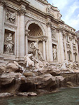Trevi Fountain, seen in the movie