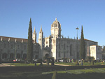 Monasteiro dos Jerónimos in Belém is the finest piece of architecture in Lisbon. Construction began in 1502, and it survived the big earthquake in 1755, when much of the rest of the city was laid in ruins.
