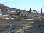 The old part of Longyearbyen.