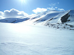 The Longyear Glacier, near Longyearbyen.