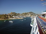 We arrived in Cabo San Lucas in the morning on Friday, October 23rd.