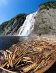 Монморанси водопад, Квебек