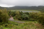 Grand Etang Lake is in a crater of an extinct volcano 550 meters above sea level.