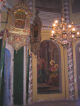 The interior is not quite as spectacular, at least not compared to other orthodox churches.