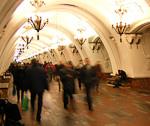 Park Pobedy station.
