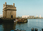 Gateway of India in Bombay.