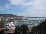 Cannes is situated at the French Riviera. On the 8th of September, 2001, I made a day-trip to this city while I was staying in Monaco. It only takes about 90 minutes by train to gobetween the two cities.