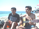 Though the water was cold, the people were warm and friendly. I met these guys (Elias and Sebastian) at the beach, and they entertained me for an entire afternoon. They even showed me a traditional Chilean dance.
