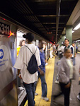 The Subway station at 42nd Street.