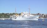 King Harald's yacht.