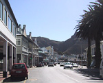 On the eastern shores of the Peninsula, in the False Bay, is the small town of Simonstown.