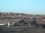 I also made a brief trip to Soweto - the black township just south of Johannesburg. 3.5 million people live here!