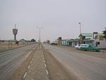 The sleepy town of Henties Bay, 80 km north of Swakopmund.