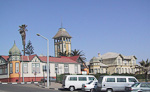 If you try to ignore the palm trees, Swakopmund looks like a German town. It is one of the favorite holiday destinations in Namibia.