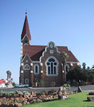 The Christuskirche is the best recognised landmark in the city. The construction started in 1907.