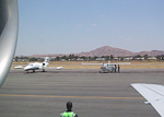 The Eros Airport is the smallest of the two airports close to Windhoek, and mainly serving domestic flights.