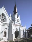 Moederkerk in the center of Stellenbosch.
