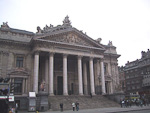 The Brussels Stock Exchange.