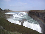 Gullfoss is the most impressive waterfall on Iceland.