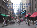 Mikunkato shopping street.