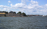 A short boat trip from the market place in Helsinki is the island Suomenlinna, which is a fortress built by the Swedes between 1748 and 1772 to protect Helsinki from the Russians.