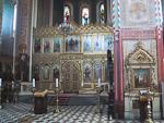 Inside Aleksander Nevski Cathedral.
