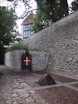 According to legend, the Danish flag, Dannebrog, fell down from the skies at this spot in on June 15, 1219, while the Danish king Valdemar was here.