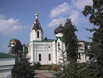 St Maria Magdalena Church is located right next to Hotel Belarus. It was built in 1847, and rebuilt in 1950.