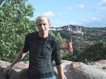 Victor, my guide in Vilnius.