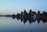 Trakai was the capital of Lithuania in the Middle Ages. It is located less than 30 kilometers from Vilnius, and is a popular destinations for shorter trips from the the current capital.