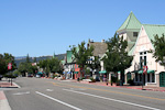 We stayed a night in Solvang, a Danish town in California.