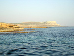 The view towards Cape Greco.