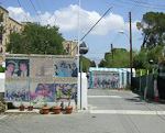The Ledre Palace checkpoint is the only place where people are allowed to cross the green line dividing the island. Tourists to the South (except Greek tourists) can visit the North for day visits only. Cypriots are not allowed to cross, except in special cases, like funerals of relatives on the other side. Tourists who arrive in the Turkish occupied area from other countries are not allowed to cross into the South.