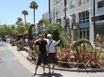 Anton and me in Santa Monica.