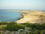 The far eastern tip of Cyprus - Cape Greco.