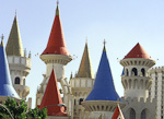 Hotel Excalibur was built in 1990, and is a favorite with children.