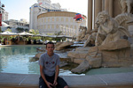 Caesars Palace opened in 1966, but has recently been renovated to keep up with the neighbors.
