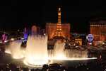 The fountain moves with the music, and can shoot water as high as 75 meters (250 feet) into the air.
