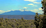 Humphreys Peak is, at 3854 meter (12,643 ft), the tallest point in San Francisco Peaks, near Flagstaff, Arizona. It is an dormant volcano that has not erupted for 220,000 years. The last eruption in the area was about 1000 years ago.