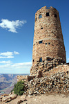 The Desert View Watchtower was completed in 1932.