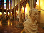 The church is now a memorial and a museum for sculptures from the period of classicism.