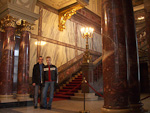 Anton and me inside the Berliner Dom.