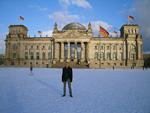 The parliament building, Reichtag.