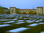 This Memorial to the Murdered Jews of Europe, consist of 2700 steles in a grid. Construction was still not complete when we were there.