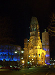 The Kaiser Wilhelm Memorial Church was built in the 1890\'s in neo-Romanesque style. As the rest of the city, it was destroyed during the war.